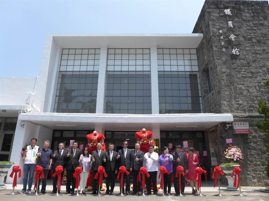 早期省議會的議員會館經重新整修,以「議蘆會館」重新開張,盼再現霧峰早期風華。(林欣儀攝)
