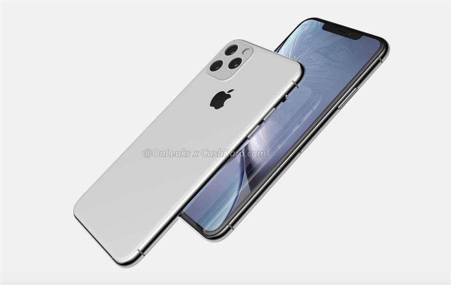 今年新iPhone渲染圖。(翻攝自Cashkaro網站)