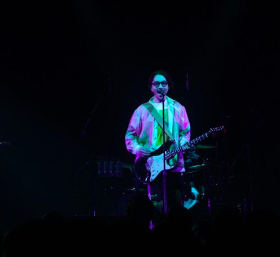 Nulbarich樂曲爽朗輕快,許多台下樂迷自在地隨音樂搖擺。(照片提供:Guts Promotion 攝影:︎Naruki Yamaguchi)