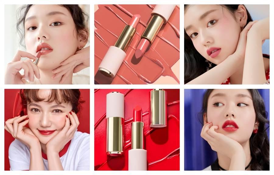 ETUDE HOUSE玩美色計唇膏,一次推出60色,台、韓、中KOL通通瘋狂轉PO推薦!