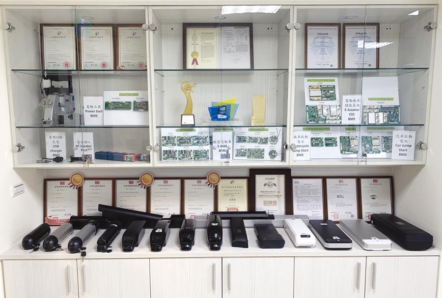 漢穎產品展示櫃照片。      圖/業者提供