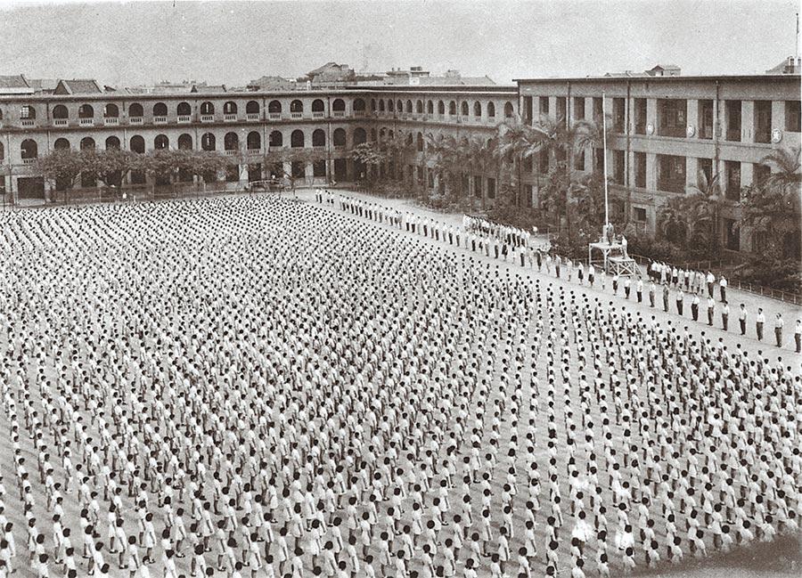老松國民學校後來又成立「老松初中」(後改為老松商業職業學校,就是今天的華江高中)。(老松國小提供)