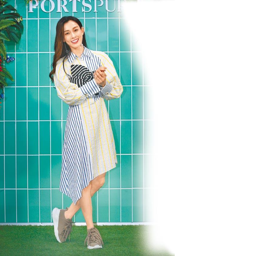 范瑋琪昨出席服裝品牌開幕活動。(粘耿豪攝)