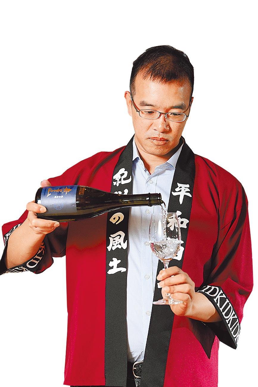 吉力酒藏唎酒師 葉明政Paul Yeh日本酒唎酒師 認定番號28751攝影石智中