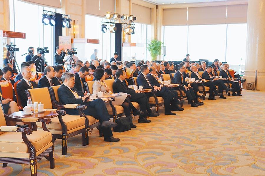 「第四屆兩岸媒體人北京峰會」在北京舉行。(記者呂佳蓉攝)