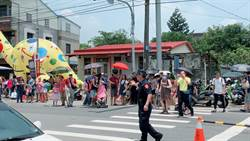 左鎮化石園區開幕 五六千人湧進小鎮