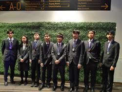 亞洲物理奧賽  我3銀4銅及1榮譽獎獲國際第4