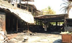 1場大火 原住民獵人學校付之一炬