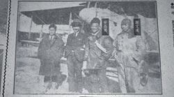 首位飛行員 用傳單喚起台灣魂