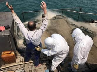 不到1個月第4起 馬祖海巡隊查獲陸船越界捕魚
