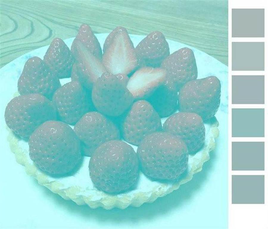 偏綠草莓圖 (圖/PTT)