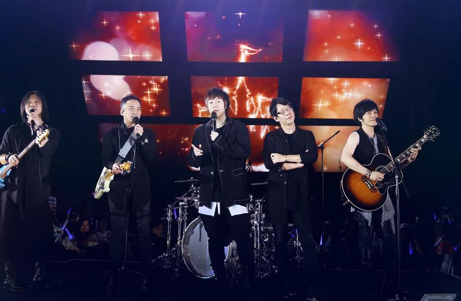 五月天近日在香港舉辦演唱會。(相信音樂提供)