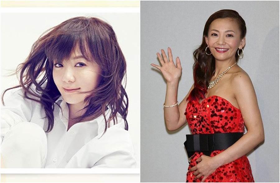 華原朋美44歲高齡懷孕,現爆出她其實是第三者。(圖/翻攝自日網)