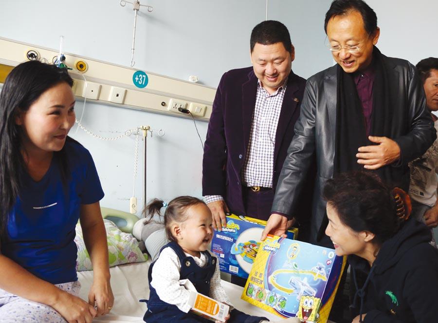 大陸上市公司步長製藥創始人趙濤圖╱中新社