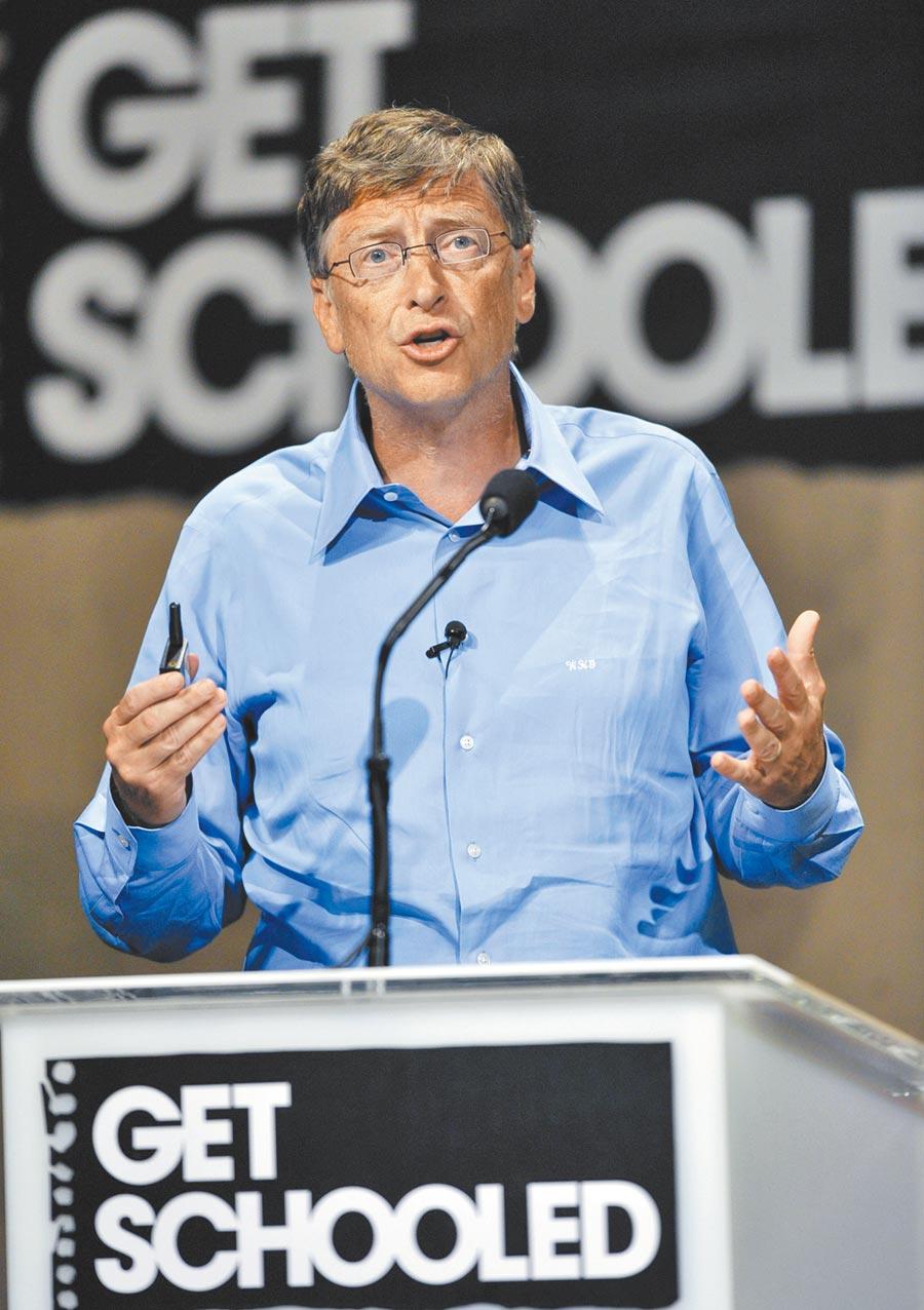 美國微軟公司創辦人比爾蓋茲專注於教育領域的投資,但卻禁止自己的孩子在14歲前使用手機。(美聯社)