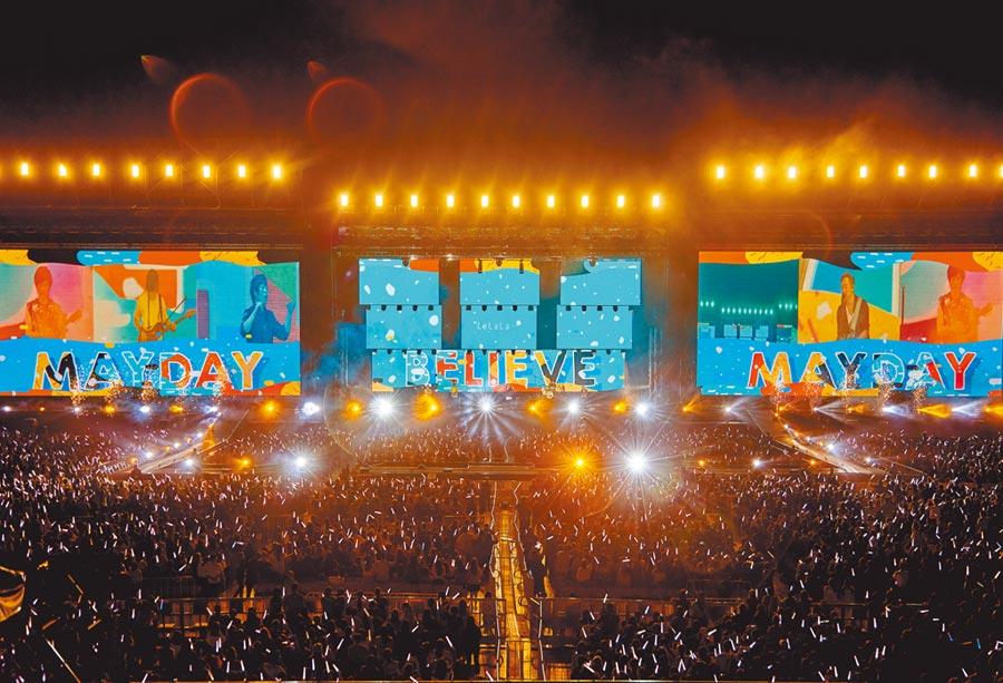 昨演唱会吸引满场2.5万人欣赏。