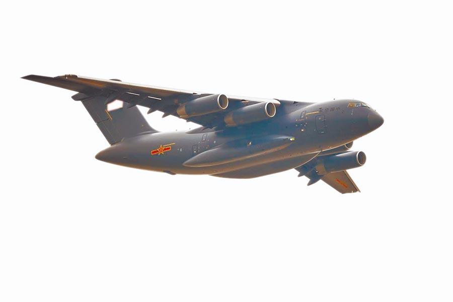 運20大型運輸機是大陸大飛機三劍客之一。(中新社)