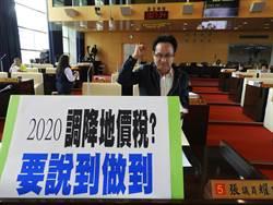 市議員張耀中為民請命  要求調降地價稅