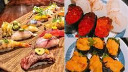 史上最狂壽司吃到飽!鮮甜海膽干貝鮭魚卵無限點