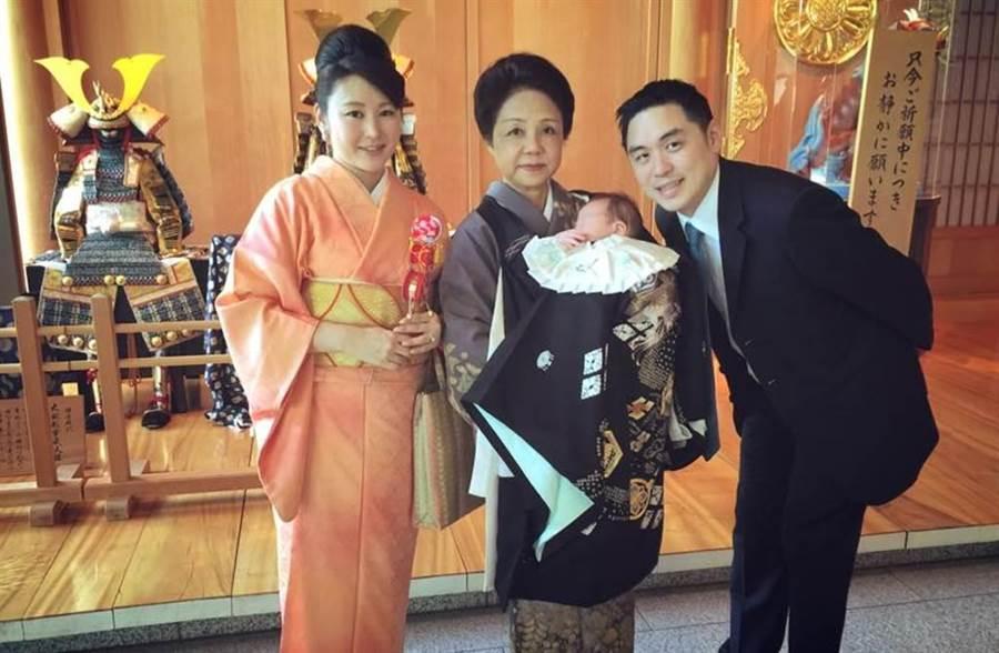 王泉仁和麻衣豪門婚變鬧了近2年。(圖/翻攝自臉書)