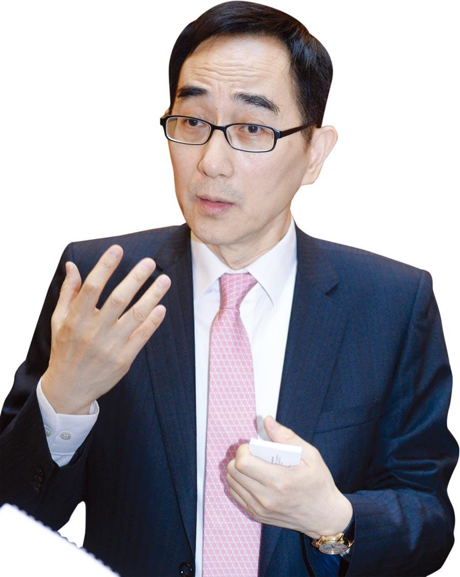 開發金控總經理王銘陽。圖/王德為