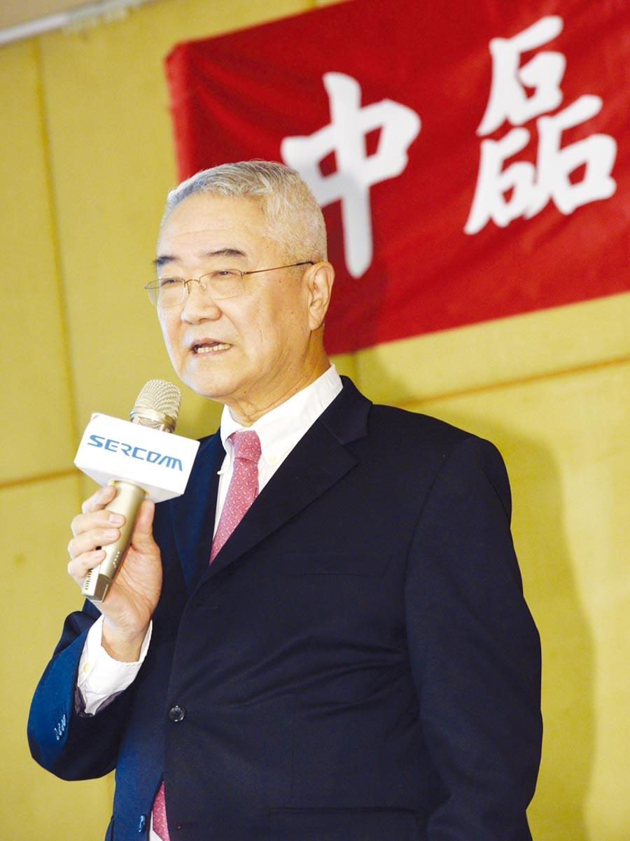 中磊電子董事長王伯元。圖/本報資料照片