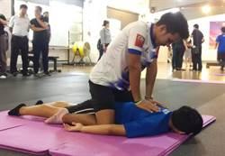 屏科大泰國姊妹校交流 泰式按摩結合運動健身