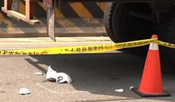 貨車繩索拖地 女騎士疑壓繩摔車遭輾斃