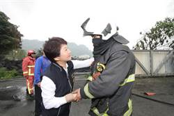 輪胎廠大火危機總動員獲肯定 盧秀燕感謝團隊合作