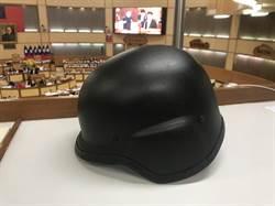 新北霹靂小組防彈頭盔遠遜北市 市警局:明年全面換