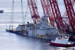 挪威沉沒神盾艦 修復比新造貴3倍