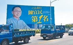 韓流帶旺藍聲勢 鳳山綠軍陷苦戰