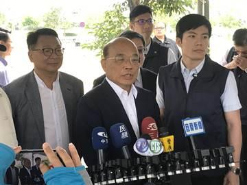 韓國瑜說選上總統將留高雄辦公 蘇貞昌批外行