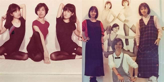 許媽媽和兩位姐妹的年輕照,顏質令人驚嘆。(圖/IG@許維恩)