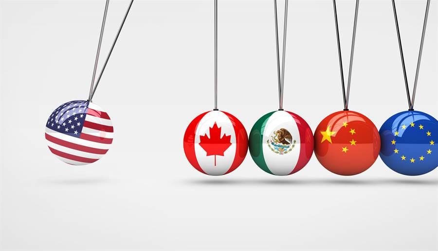 美國總統川普為了爭取2020年連任,正面臨全面重整美國對外貿易關係的關鍵期。(達志影像/Shutterstock)