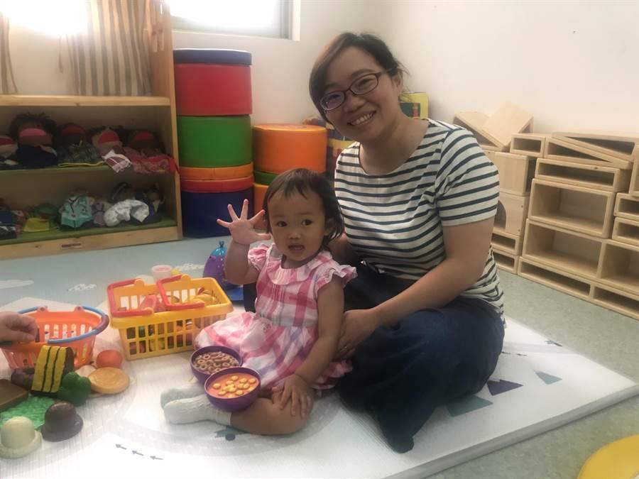 新竹市截至4月底全市有近3萬1000名6歲以下嬰幼童,代表有3萬多對父母有托育的需求。(陳育賢攝)