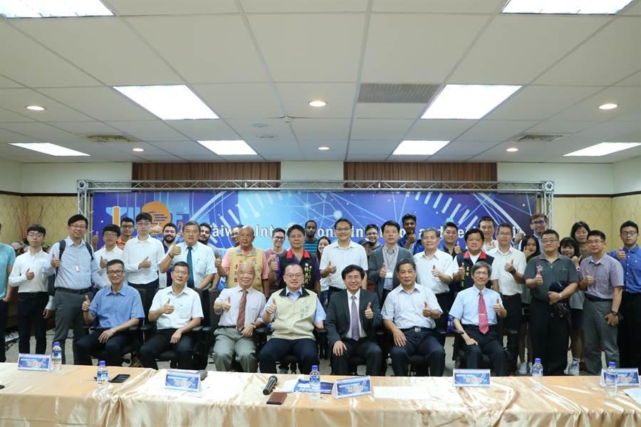 台灣知識創新學會攜手崑山科技大學舉行第7屆台灣國際創新發明暨設計競賽。(曹婷婷攝)