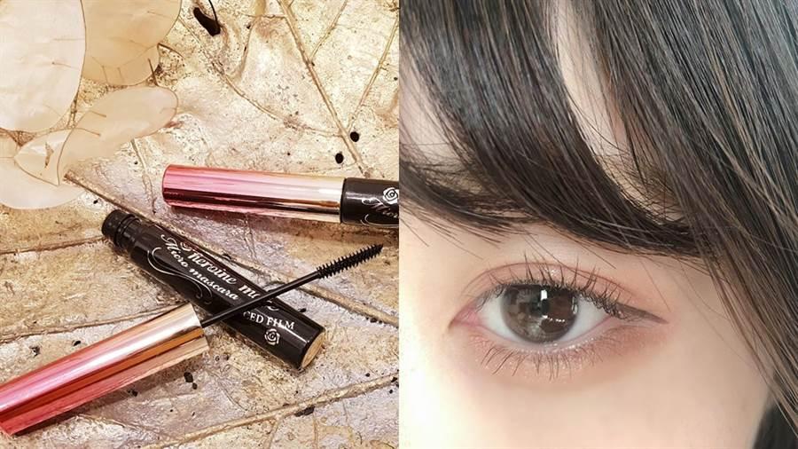 細睫控360o零死角睫毛膏能刷出精緻的睫毛。(圖/品牌提供、IG@maru959595959595)