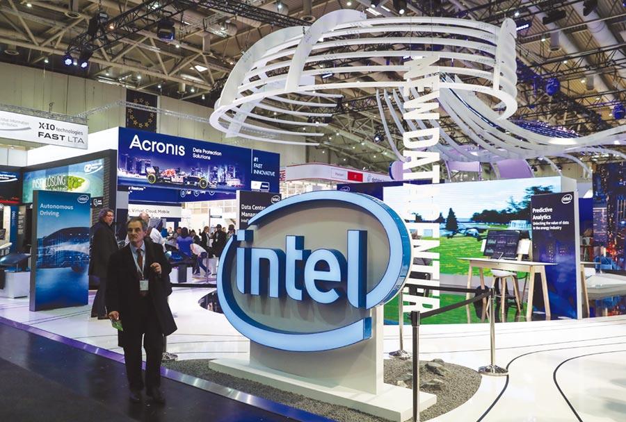 英特爾預計採用10奈米產品將在6月開始出貨。圖/新華社