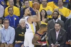 NBA》柯瑞狂飆9顆三分球 勇士西決奪首勝