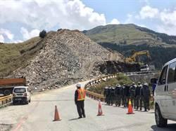 遭挖合歡山小山頭 公路總局啟動修復工程