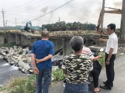 去年火速拆除八角亭大排「波浪橋」重建工程卻乏人問津