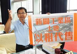 陳清龍針對新開闢完成工業區 建議應採「以租代售」辦理