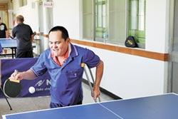 小兒麻痺蔡文福 征戰桌球比賽