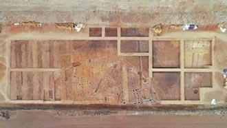 山東考古新發現 漢墓出土出行俑