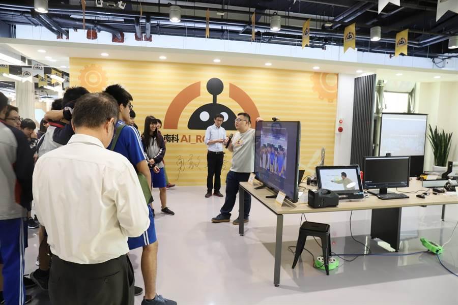 南科AI_Robot自造基地已補助17家學研機構及民間公司,產出多項亮眼成果。(南科管理局提供)