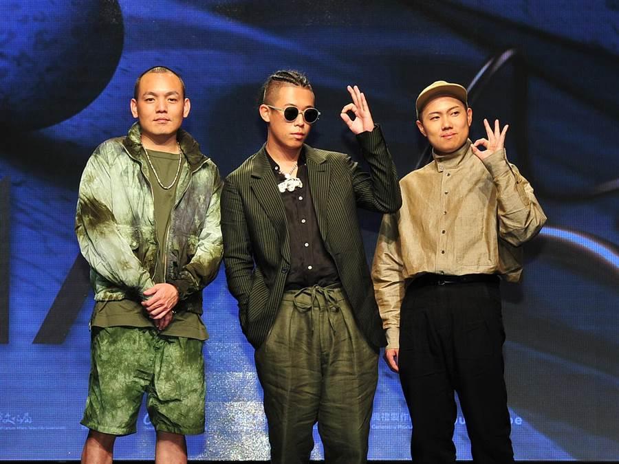 玖壹壹擔任第30屆金曲獎入圍名單揭獎嘉賓。(台視提供)
