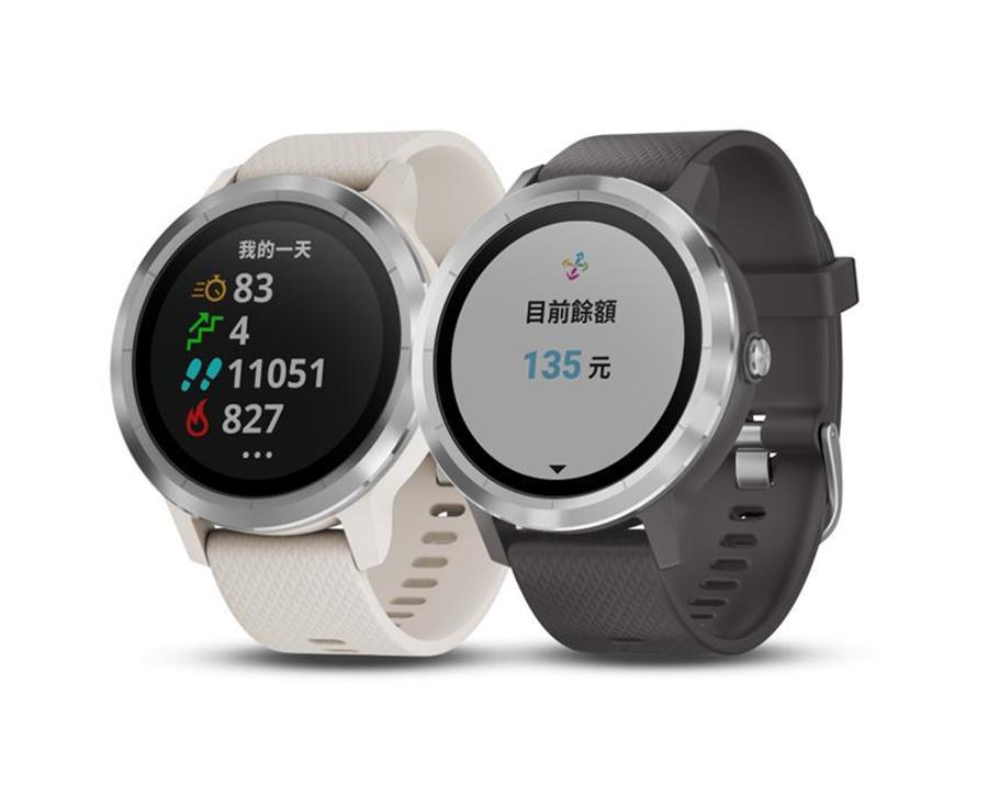 (悠遊卡載具多元化,首款智慧手錶上市。圖:Garmin提供)