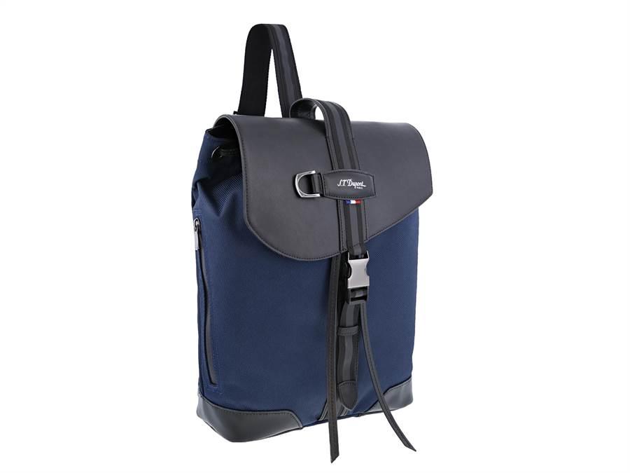S.T.Dupont新款DEFI MELLENIUM小型背包,1萬6800元。(迪生提供)