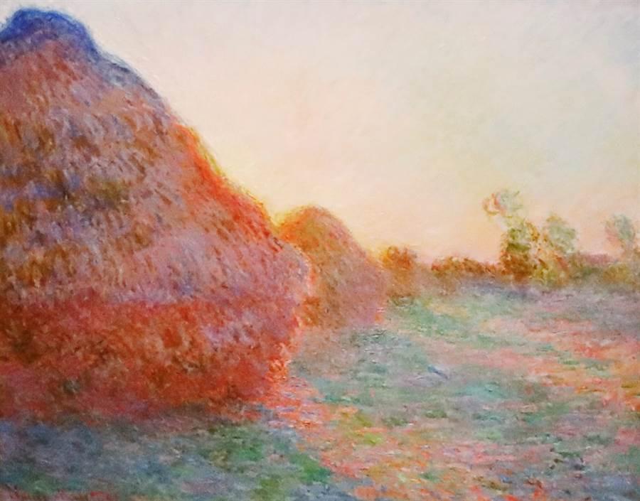 法國印象派大師莫內畫作「乾草堆」以1億1,070萬美元(約新台幣34.5億元)天價賣出,創拍賣史上印畫作紀錄。(圖/路透社)